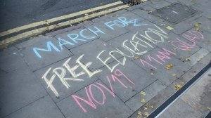 Chalking for Free Education