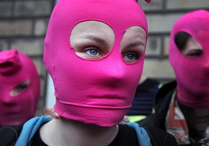 International protest in support of punk band Pussy Riot