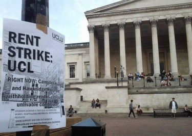 Portico rent strike